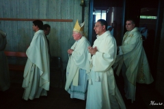Celebrazione eucaristica. Preside S.E.R. Mon Antonio Santarsiero vescovo di Houcho - Lima Perù