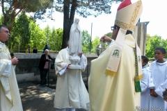 Inaugurazione statua BVM di Fatima