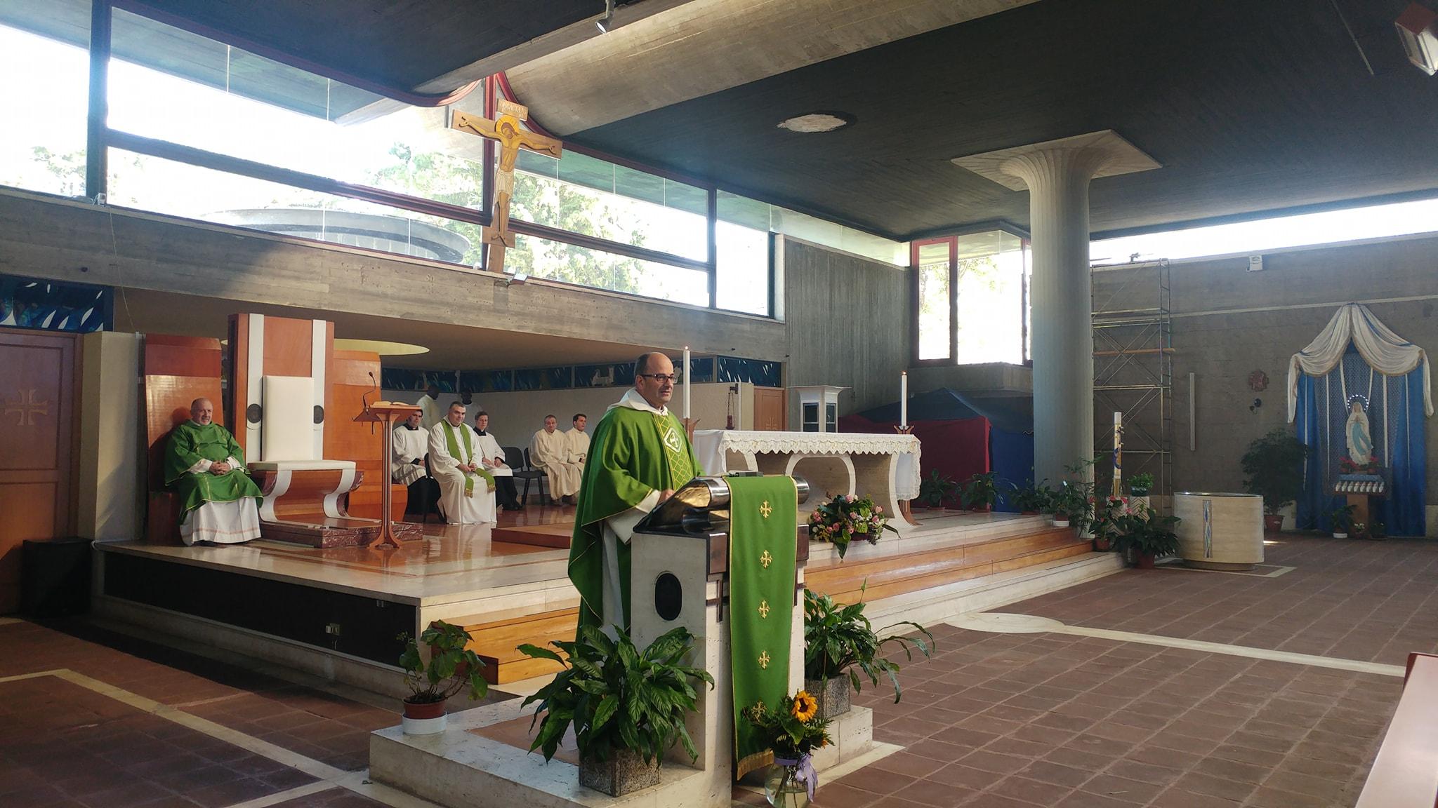 S.Messa presieduta da Don Gabriele Faraghini