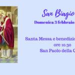 San Biagio, benedizione della gola